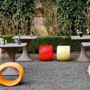 Magis Spun Chair Papillon Garden Landscape Design