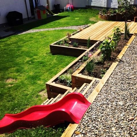 Create a wonderful garden for kids