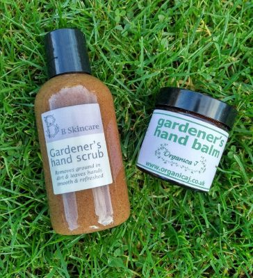 Gardener's hand creams and ointments