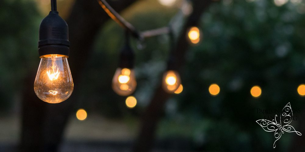 Garden lighting blog by Papillon Designs & Landscaping