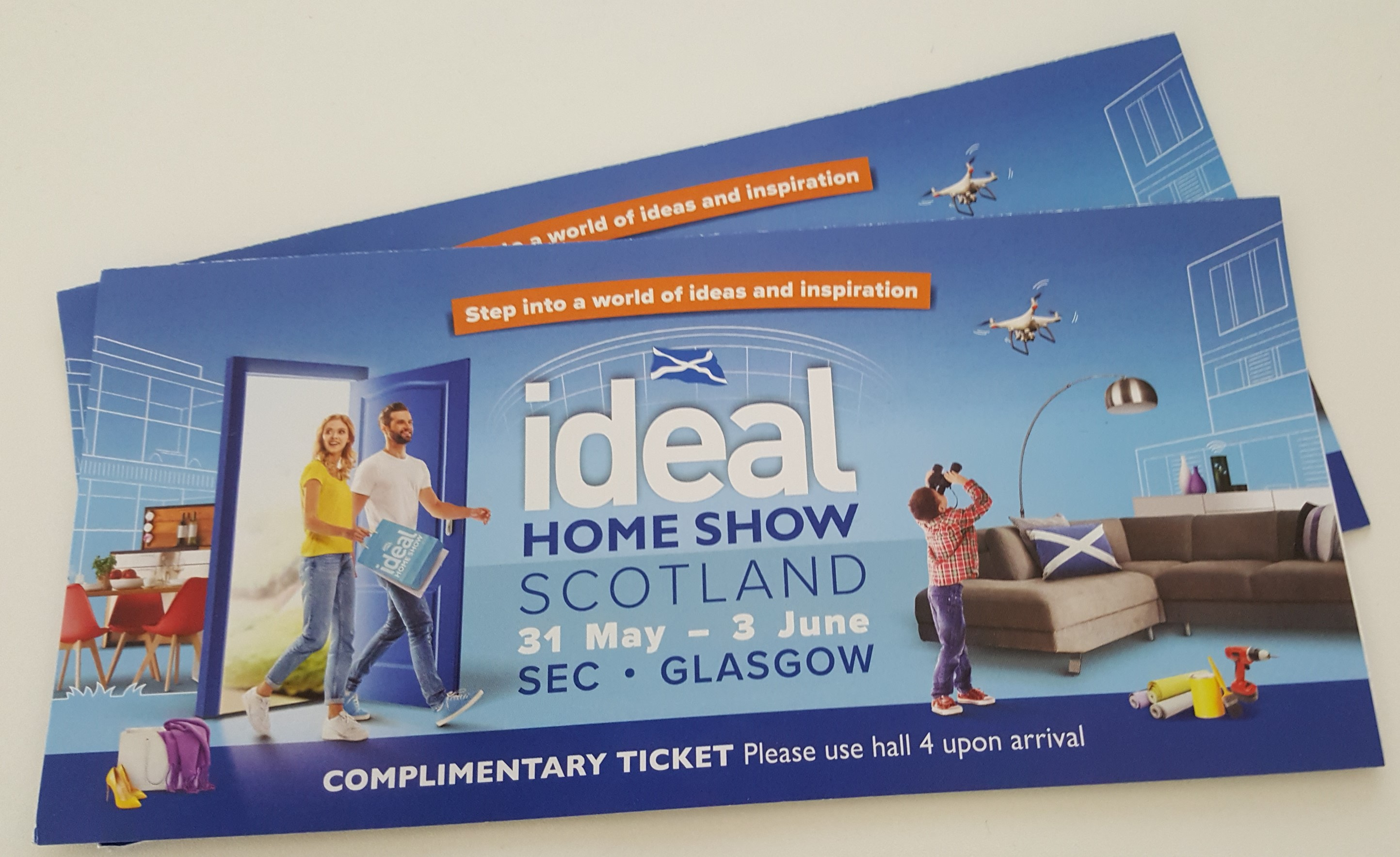Win tickets to Ideal Home Show