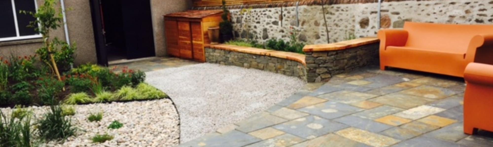 garden design project in Aberdeen