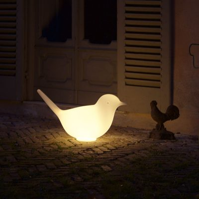 Illuminated Paloma bird stools