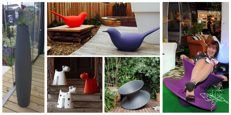 Jazz up your garden with these funky garden accessories and furniture