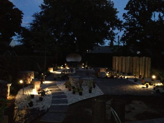 Garden lighting by Papillon