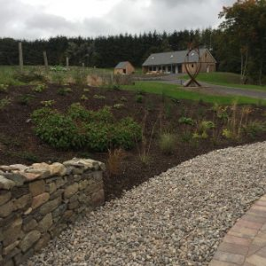 Sloping garden blog