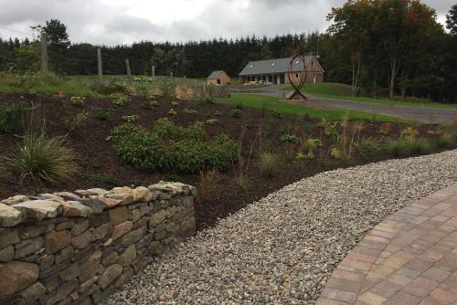 Sloping garden blog