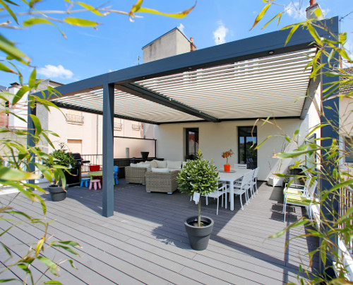 Ideal Home Show - Patio cover from Papillon