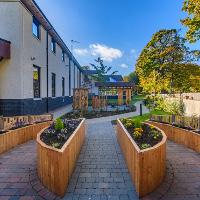 CLAN Centre sensory garden