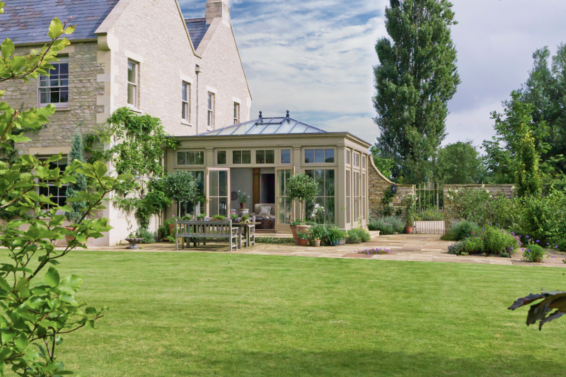 Papillon blog - example of orangery by Vale Garden Houses