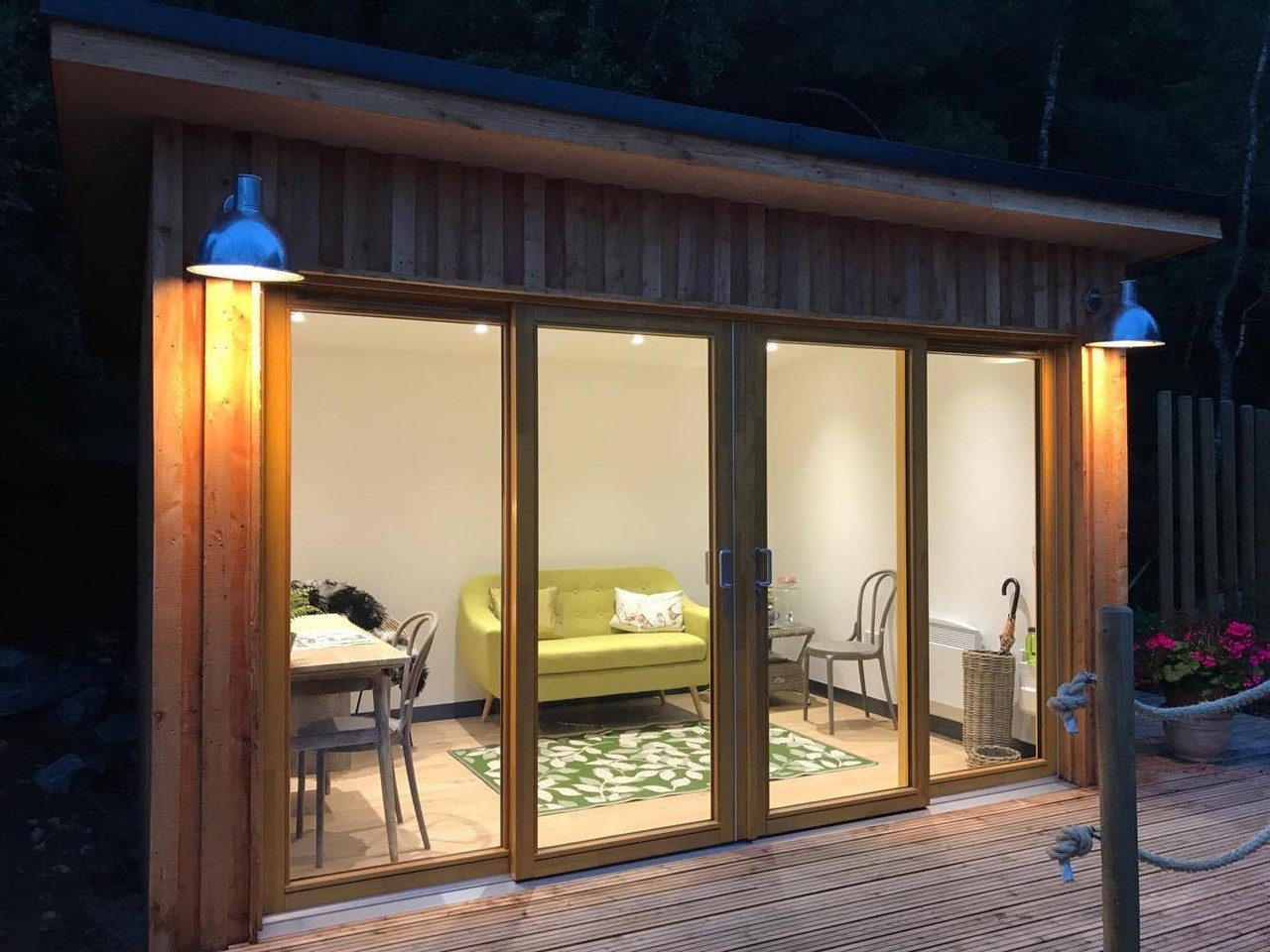 Summer house in Ballater built by Papillon Designs & Landscaping