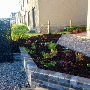 Garden design for Garthdee project