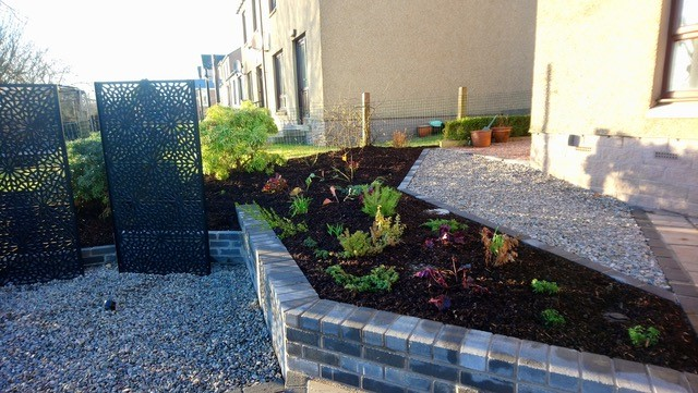 Garden design for Garthdee project