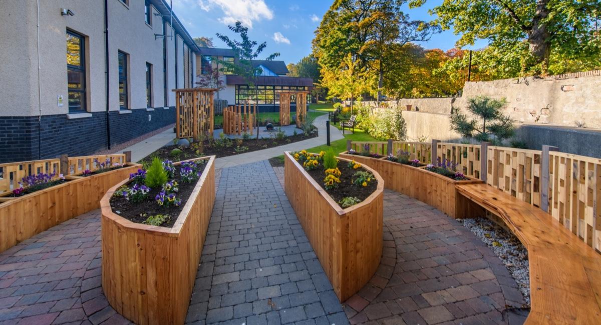 Papillon - sensory garden at CLAN